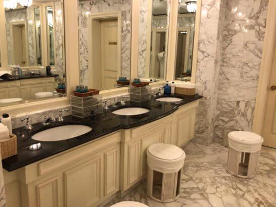 ザ・リッツ・カールトン大阪「The Ritz-Carlton Spa」のトイレ