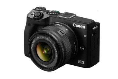 EOS M3 レンズキット(ブラック)