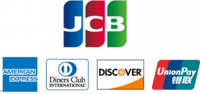 JCBと提携国際ブランドのロゴ