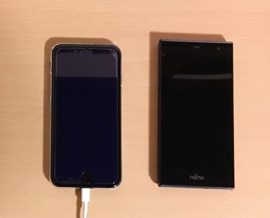 iPhone 7とAndroidスマホ