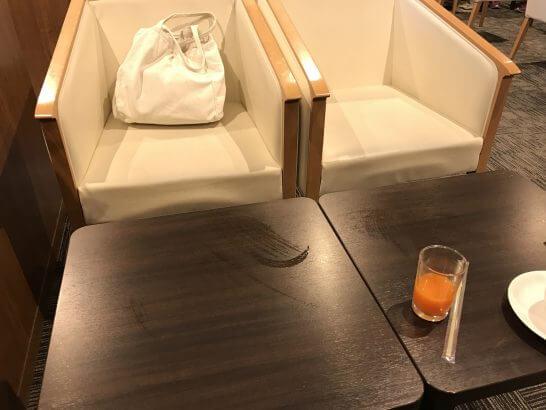 イオンラウンジの椅子・ソファー