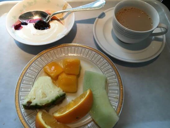 グランドニッコー東京 台場(旧ホテル グランパシフィック LE DAIBA)のフルーツ