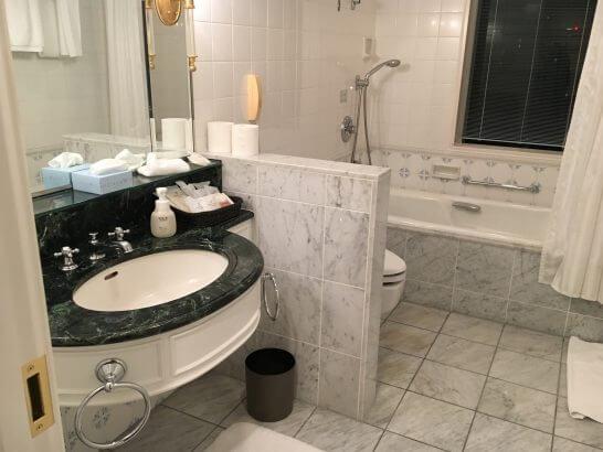 グランドニッコー東京 台場(旧ホテル グランパシフィック LE DAIBA)の洗面所・バスルーム