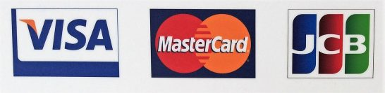 VISA・Mastercard・JCBのロゴ
