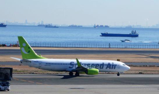 Solaseed Air(ソラシドエア)の飛行機