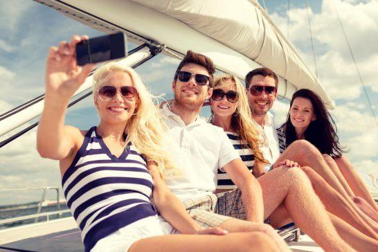 船での旅行
