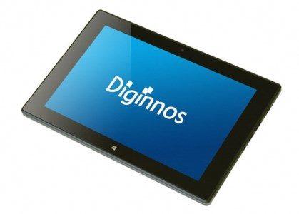 デジノスOffice 365付き 8.9インチWindowsタブレット