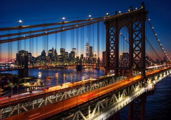 ニューヨーク(マンハッタン・ブルックリン橋)