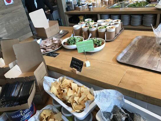 Mr.FARMER 駒沢オリンピック公園店のレセプションパーティーの食事 (2)