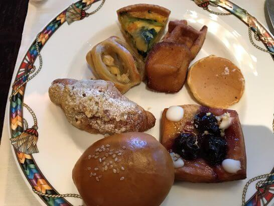 ウェスティンホテル東京の朝食のパン