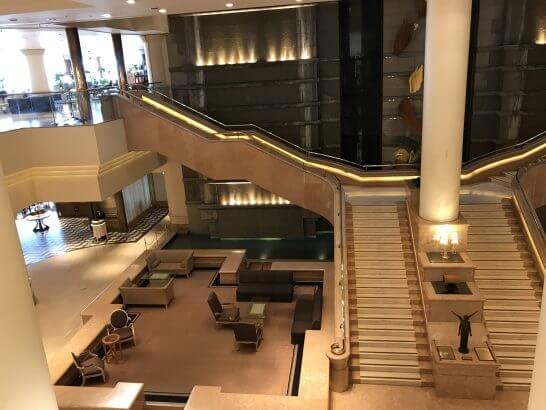 横浜グランドインターコンチネンタルホテルのロビー