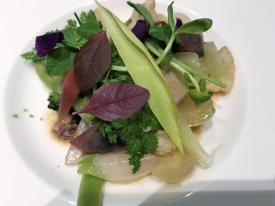MOTIFのホタルイカと季節野菜