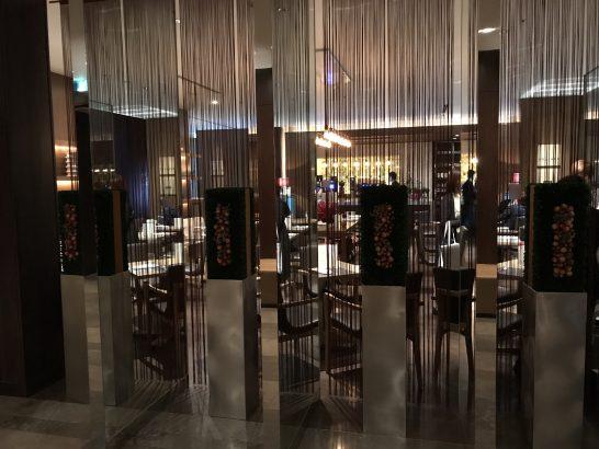 コンラッド東京のレストラン