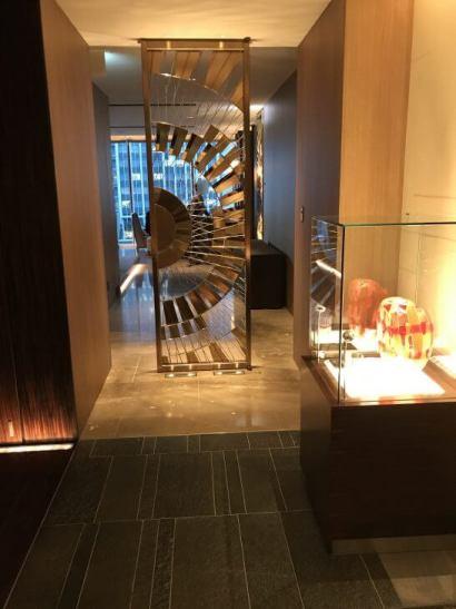 フォーシーズンズホテル東京7階の廊下