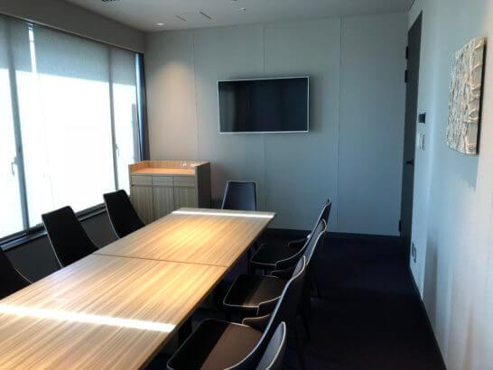 東京マリオットホテルのエグゼクティブラウンジのミーティングルーム (1)