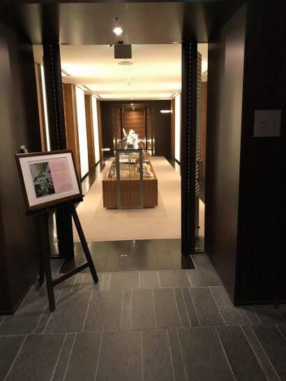 フォーシーズンズホテル東京7階のSPA