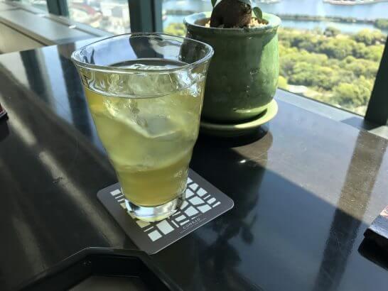 コンラッド東京の風花の緑茶