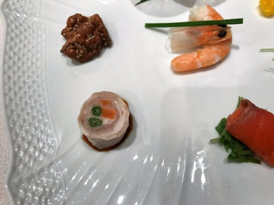 季節の前菜7種盛り合わせ (1)