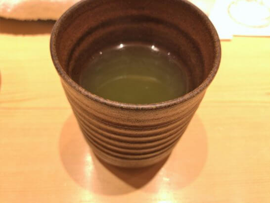 鮨さいとうのお茶