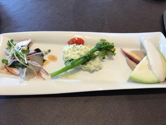 伊勢丹のキハチ(前菜)