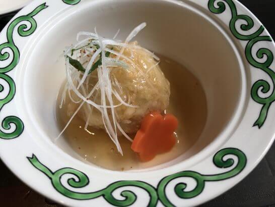 帝国ホテル東京の讃アプローズの煮物