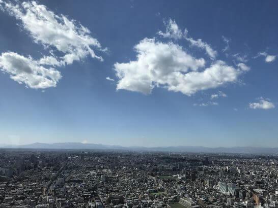 パークハイアット東京のピーク ラウンジからの眺め (2)