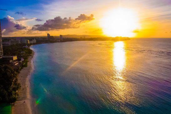 グアムのビーチ (1)