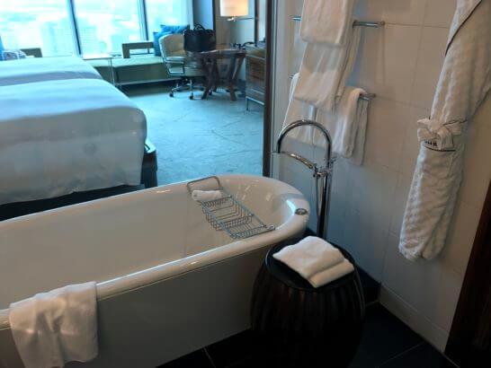 コンラッド東京のバスルーム