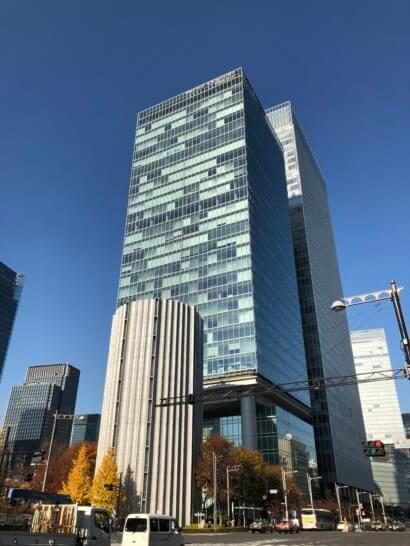 フォーシーズンズホテル東京が入っているパシフィックセンチュリープレイス丸の内