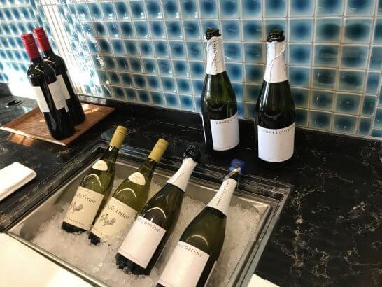 ヒルトン東京お台場のエグゼクティブラウンジのワイン