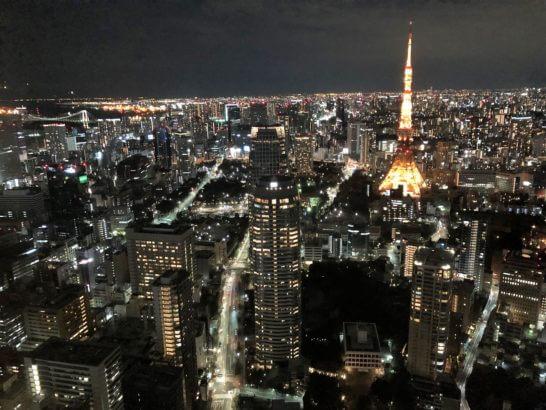 アンダーズ東京の夜景
