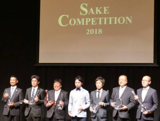 SAKE COMPETITION 2018の1位受賞者