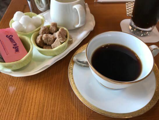帝国ホテル東京の嘉門のコーヒー