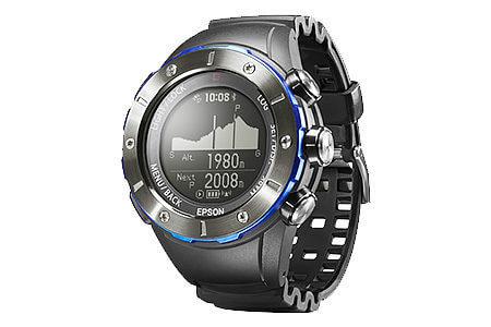 EPSON 登山用GPSウォッチ 「Wristable GPS for Trek」 MZ-500MS