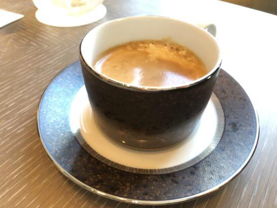 ダイナースクラブ 銀座プレミアムラウンジのコーヒー