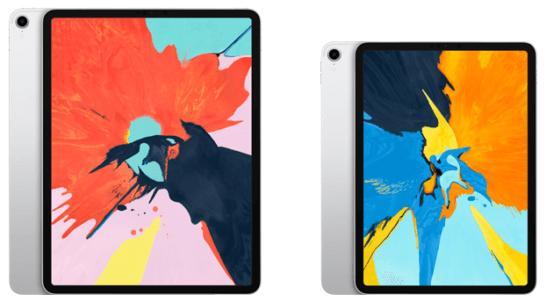 2018年のiPad Pro(11インチ・12.9インチ)