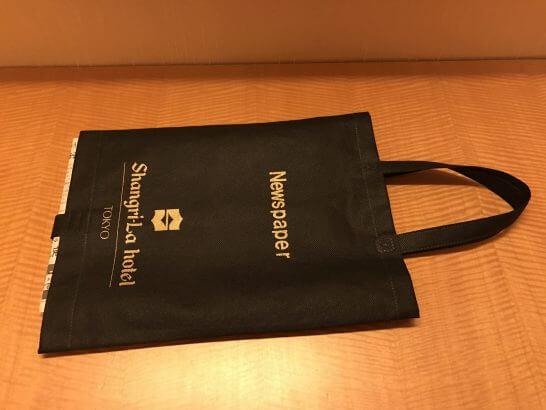 シャングリラホテル東京の新聞