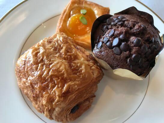 ザ・リッツ・カールトン東京の朝食のパン