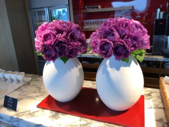 グランドハイアット東京のクラブラウンジ (お花)