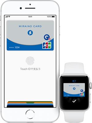 ミライノカードとApple Pay
