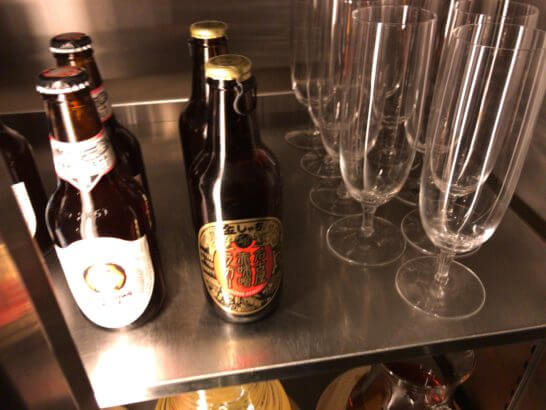 グランドハイアット東京のクラブラウンジのクラフトビール (1)