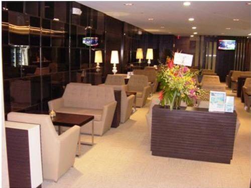 グアム国際空港のSagan Bisitaの室内