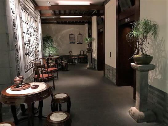 ザ・ペニンシュラ東京の中国料理「ヘイフンテラス」の店内