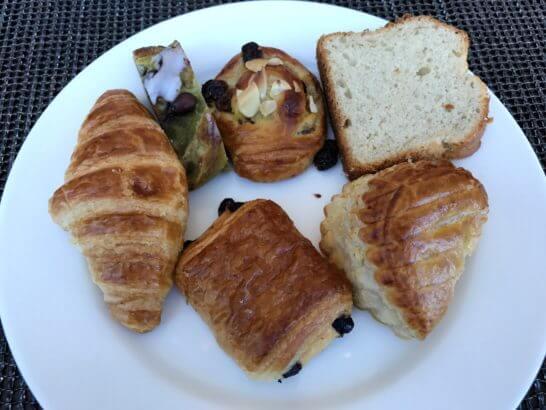 コンラッド東京の朝食のパン