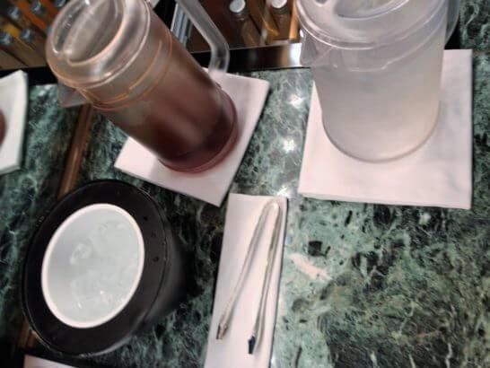 クラブ オン ザ パークお茶・水・氷