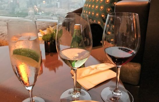 ザ・プリンスギャラリー 東京紀尾井町のクラブラウンジのワイン等