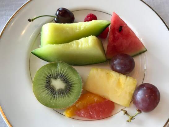 ザ・リッツ・カールトン東京の朝食 (フルーツ)