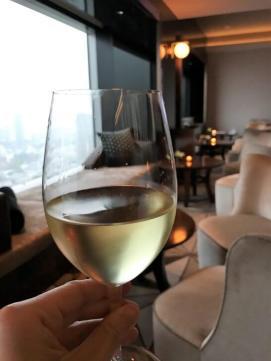 ザ・プリンスギャラリー 東京紀尾井町のクラブラウンジの白ワイン