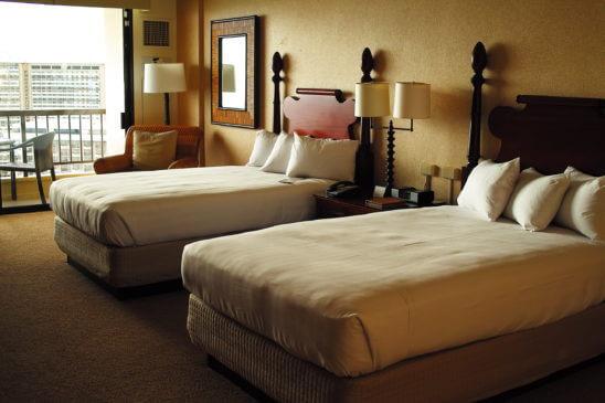 海外リゾートのハワイのホテル