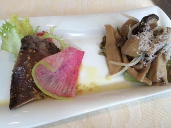 伊勢丹のレストラン・キハチの前菜